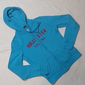 Hollister Surf Team Full Zip Hoodie